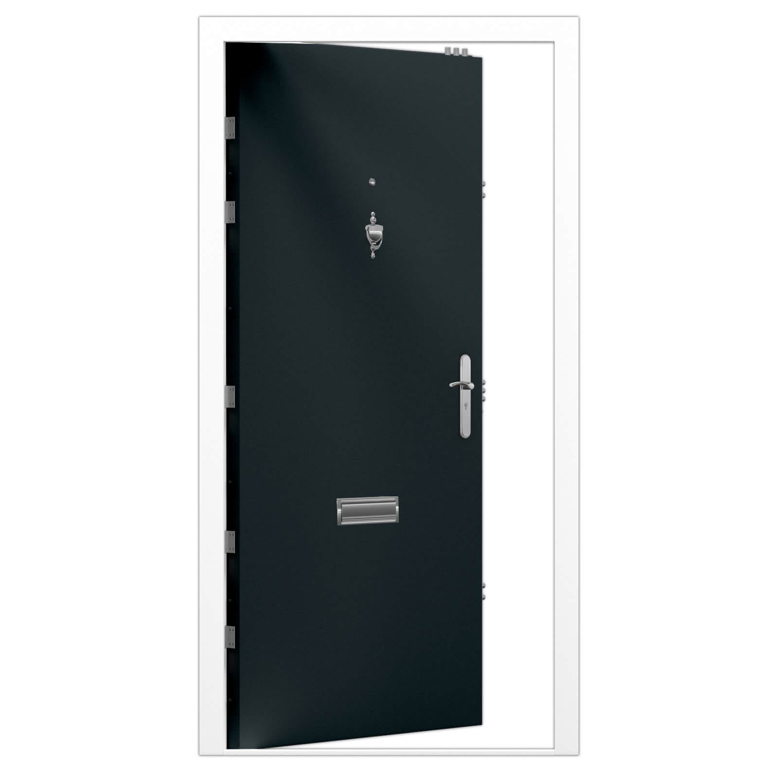 High Security Front Door Lathams Steel Doors