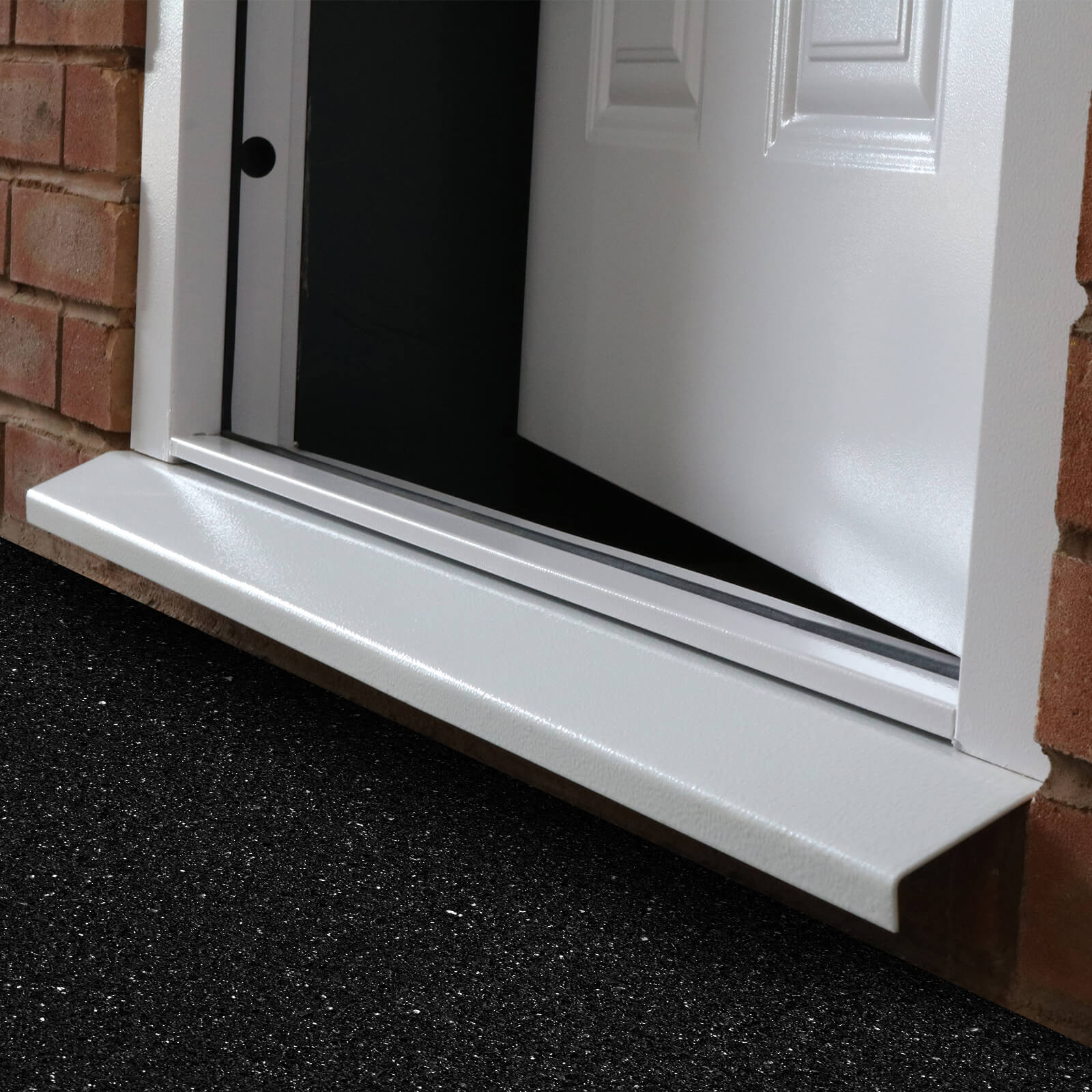 Side view of door cill for Lathamu0027s Steel Doors & Door Cill | Lathamu0027s Steel Security Doors