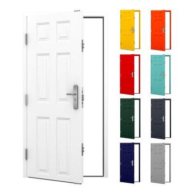 Latham's panelled steel door