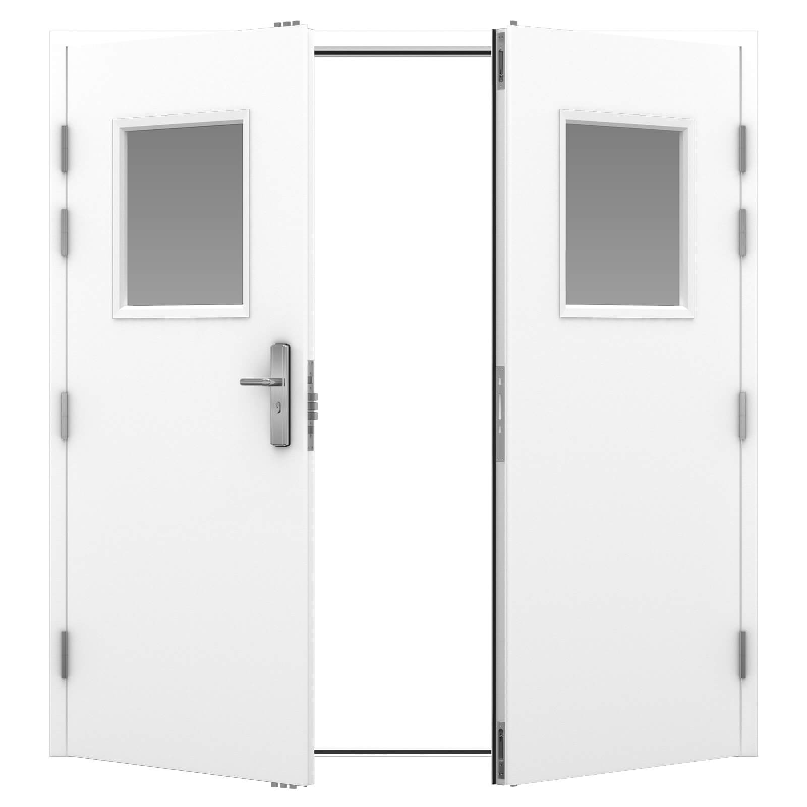 Steel Security Doors Double Latham S Steel Doors