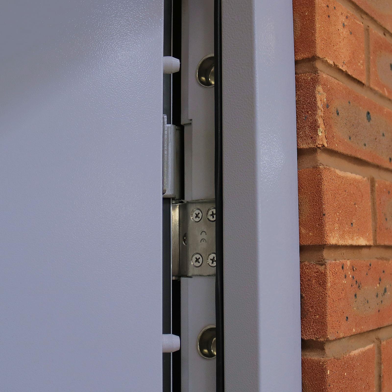 Steel Security Door Heavy Duty Latham S Steel Doors