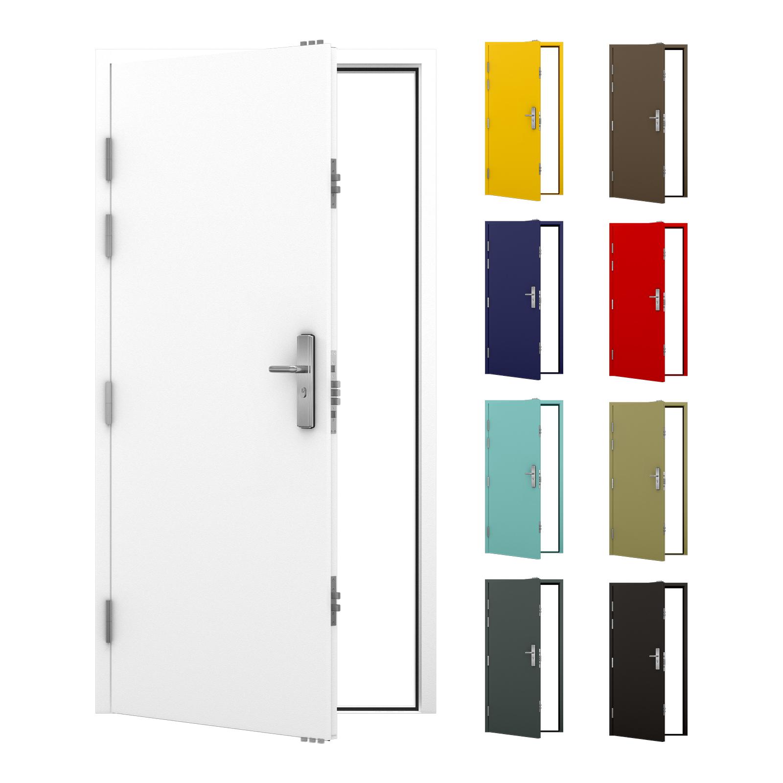 Steel Security Door Heavy Duty Lathams Steel Doors
