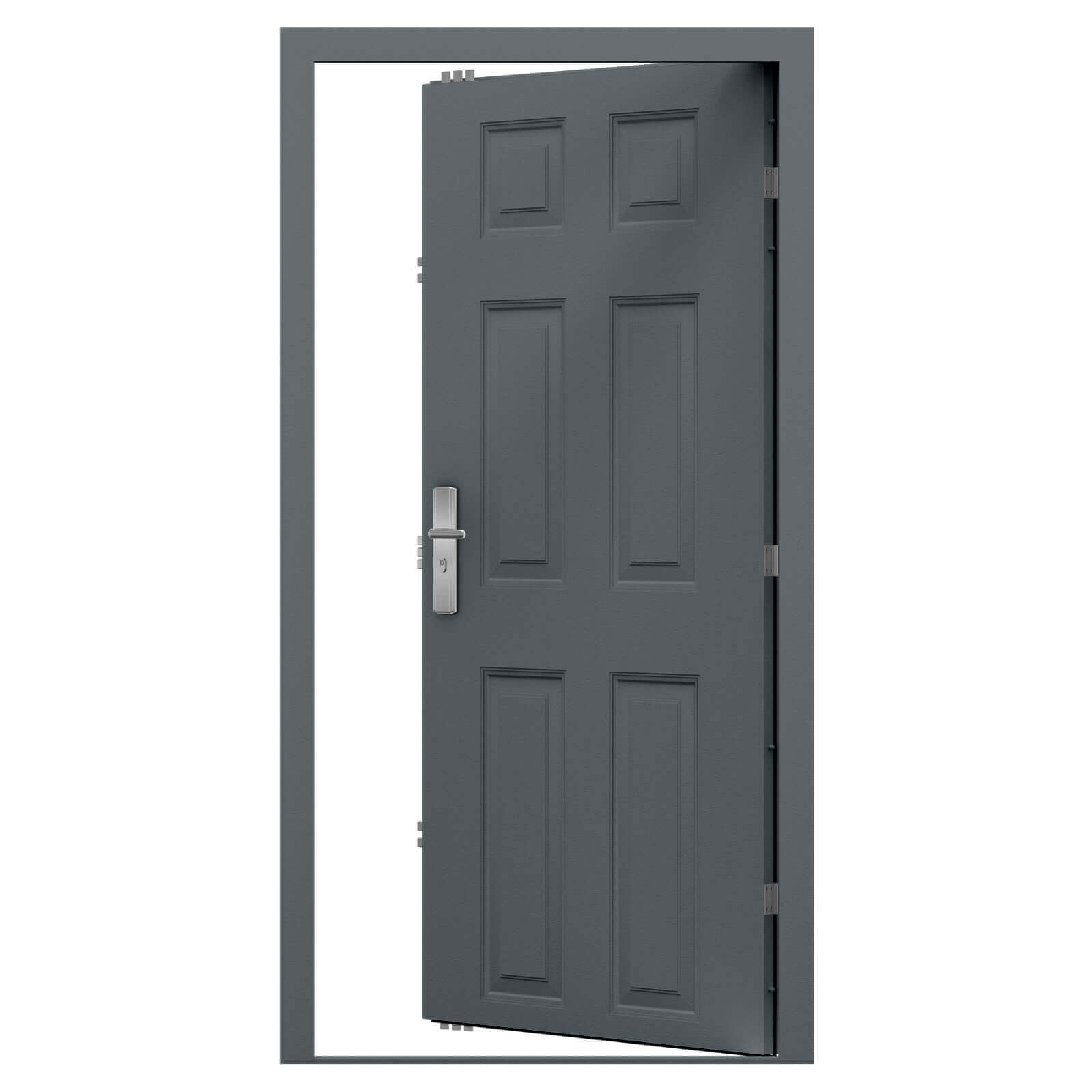 Panelled Steel Door 6 Panel Design Latham S Steel Doors