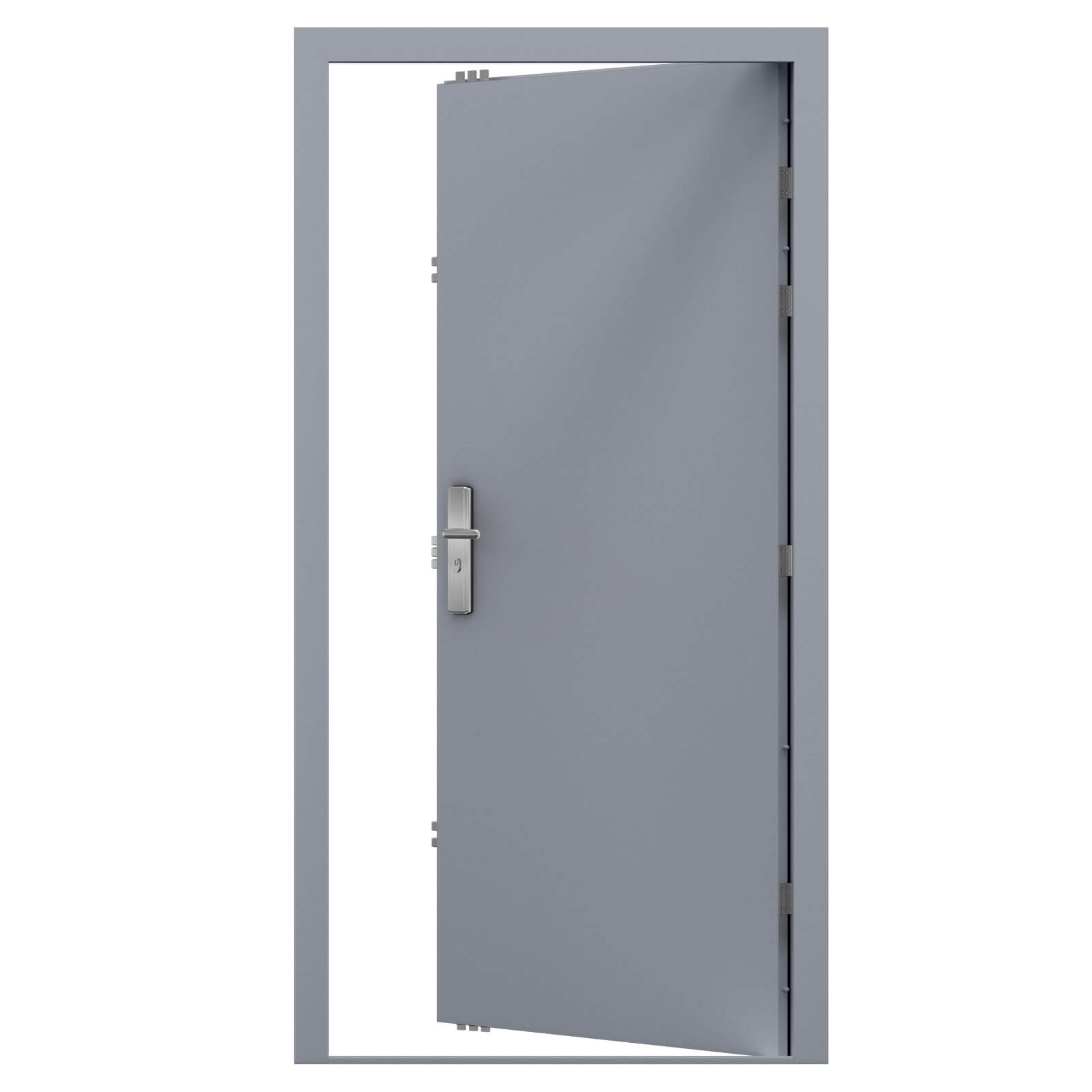 Steel Security Door - Heavy Duty | Latham's Steel Doors