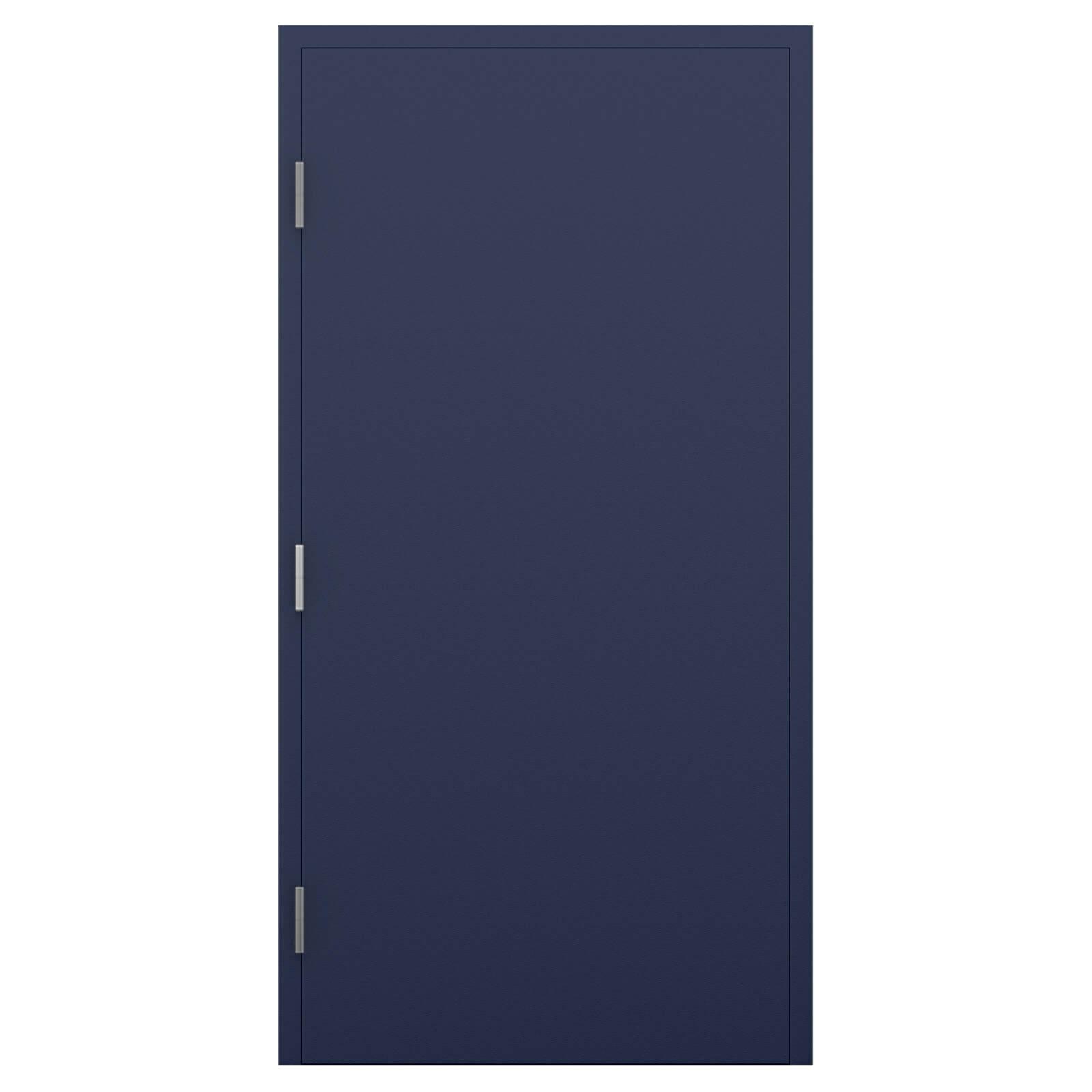 Blue Fire Door Paint