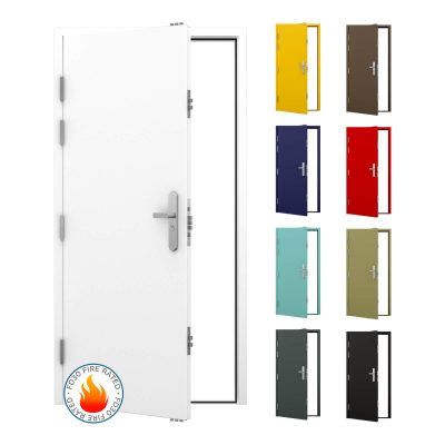 FD30 fire rated security door
