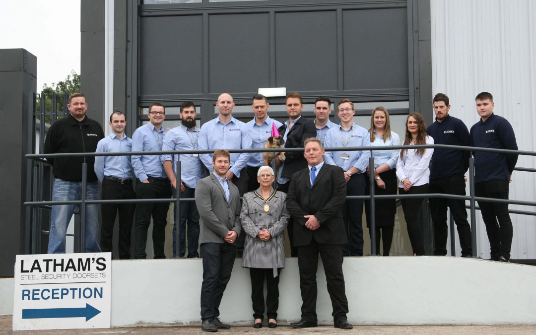 Continued Growth Opens New Doors for Latham's Security Doorsets Ltd