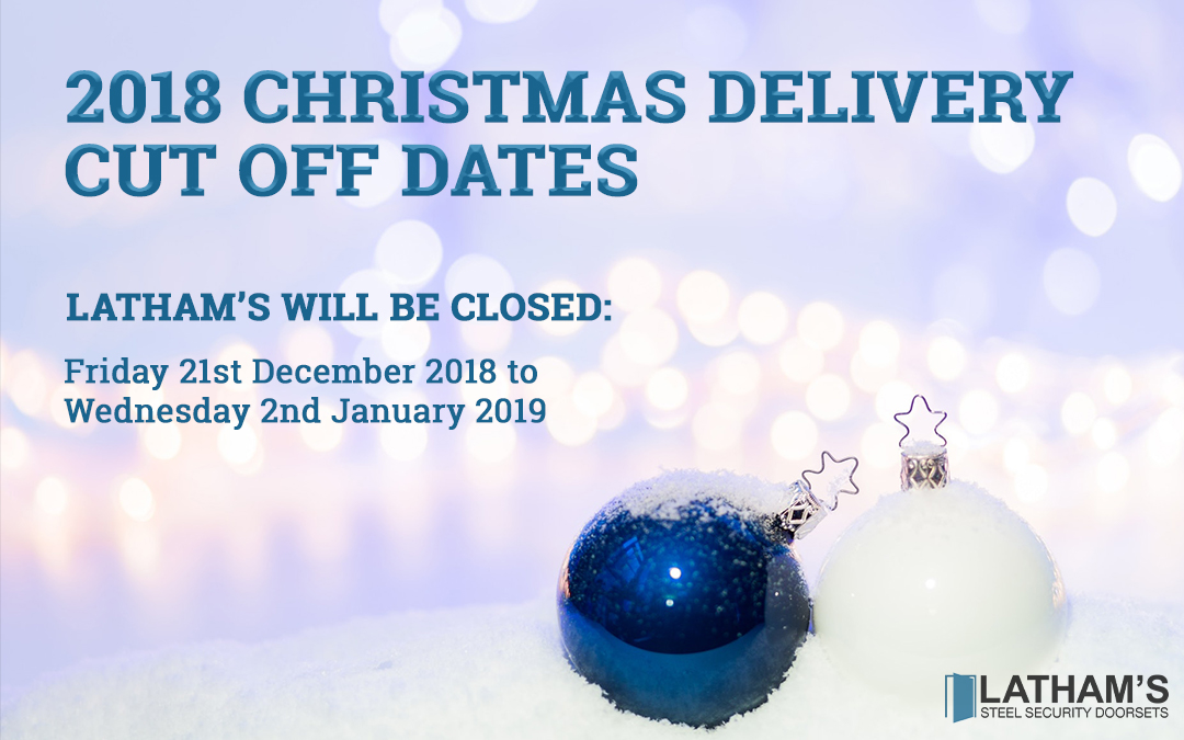 Delivery Dates and Opening Hours Christmas 2018