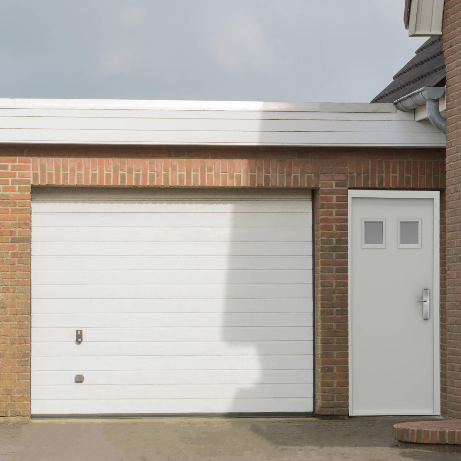 Modern Garage Doors In An Astonishing Protection: Security Garage Side Door