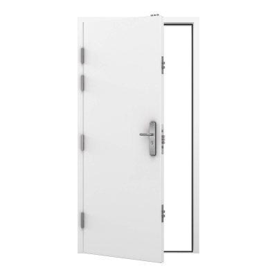 security single door in signal white