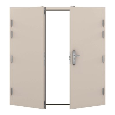image of security double door in mushroom