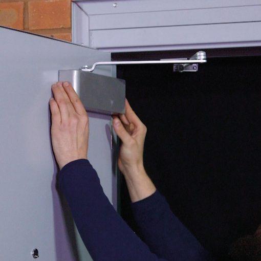 Door closer fitting video