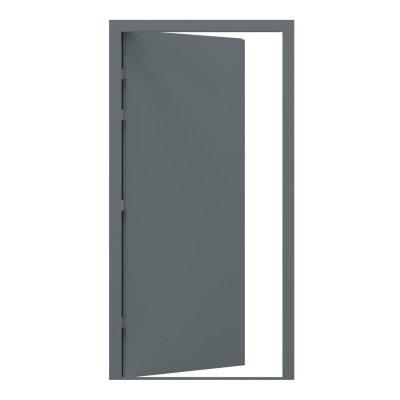 Merlin grey blank security steel door