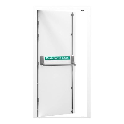 White security fire exit clearance door RMF169