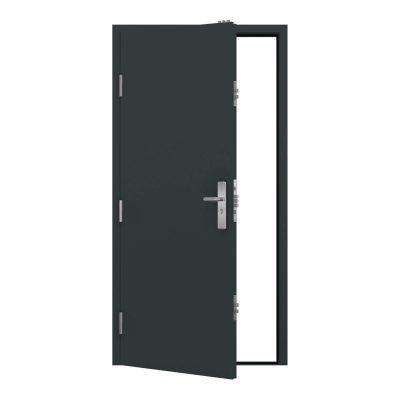 Anthracite grey clearance budget steel door RMP190