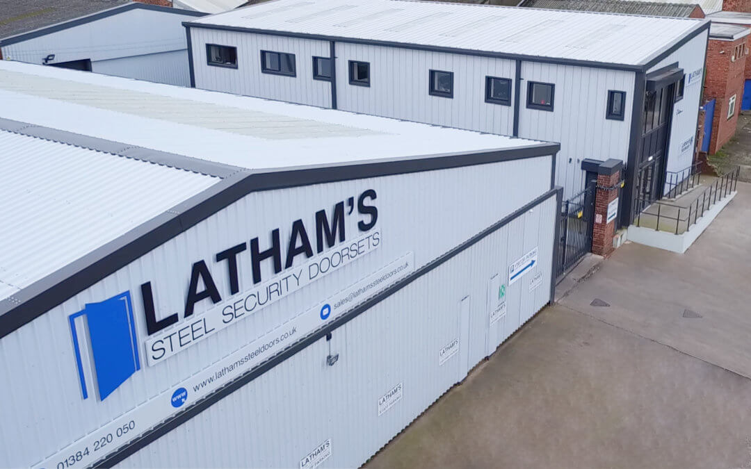 Prestigious visit for Latham's Steel Doors