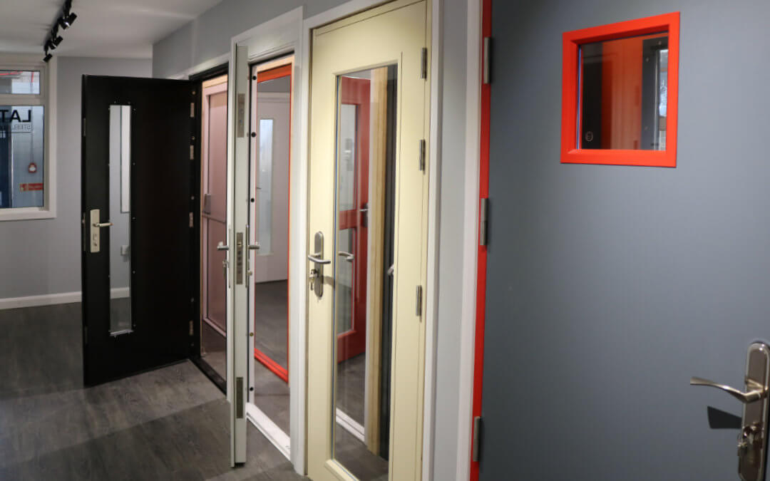 New Steel Door Showroom at Latham's
