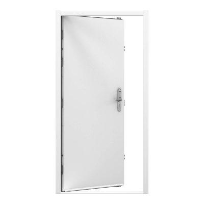 white steel security door with code lock clearance code code RMP215