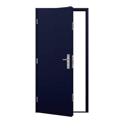 Cobalt Blue steel door, clearance code RMP228