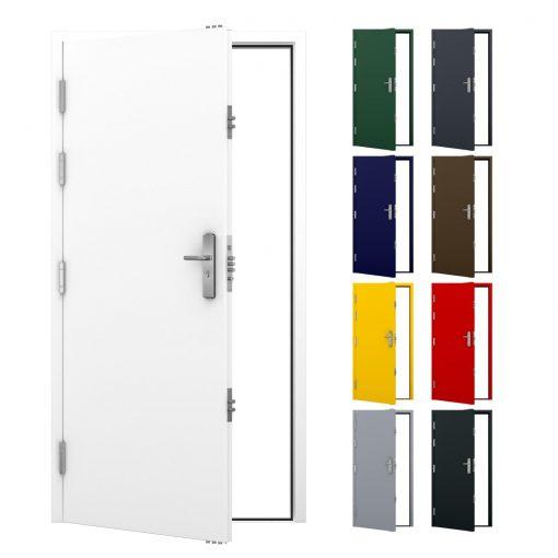 Latham's ultra high security steel door