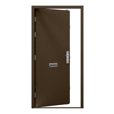 van dyke brown steel security door