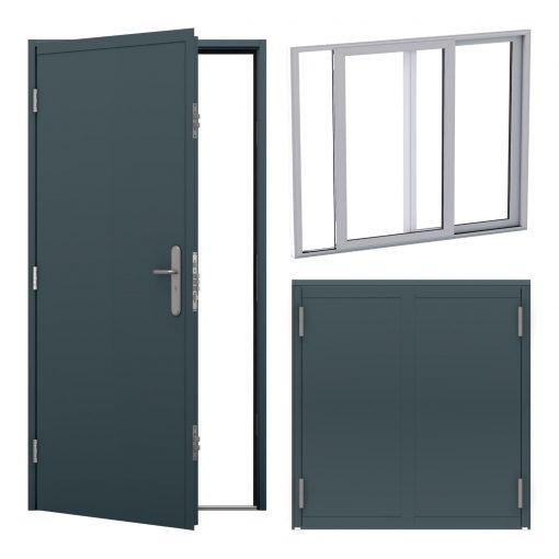 container door & shutter bundle