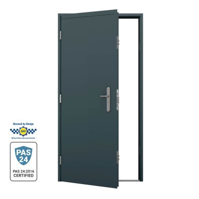 PAS 24 Security rated container door with astragal