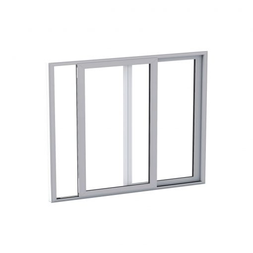 Shipping container window glazing unit