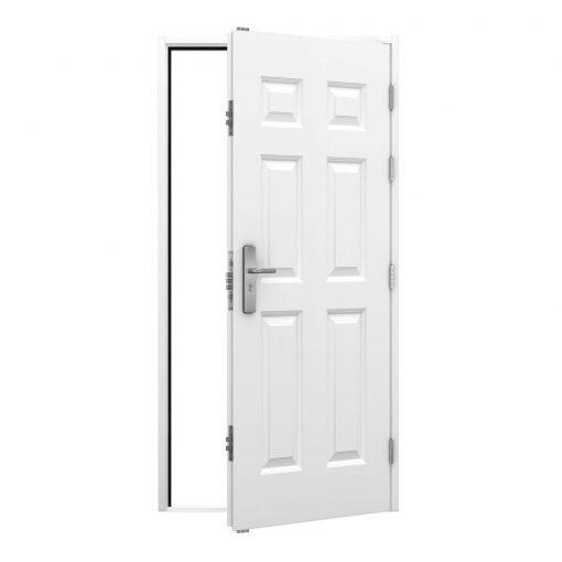 Security Panelled Steel Door