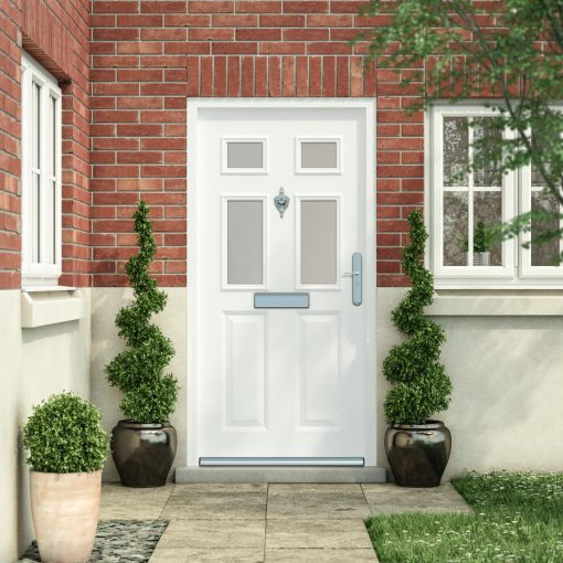 Traditional front door style 4