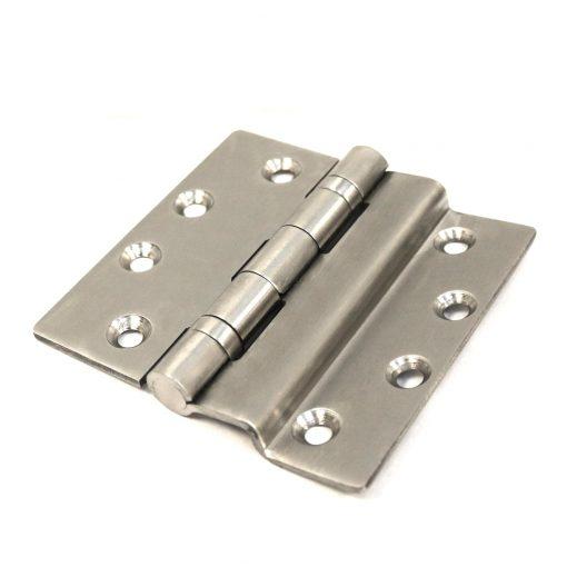 hinge for a security or budget steel door