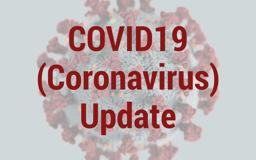 Header image for Coronavirus update