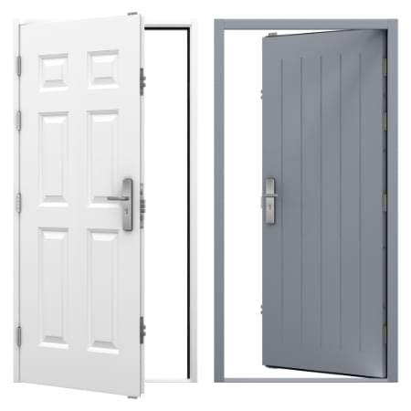 Panelled Steel Security Doors Category Image