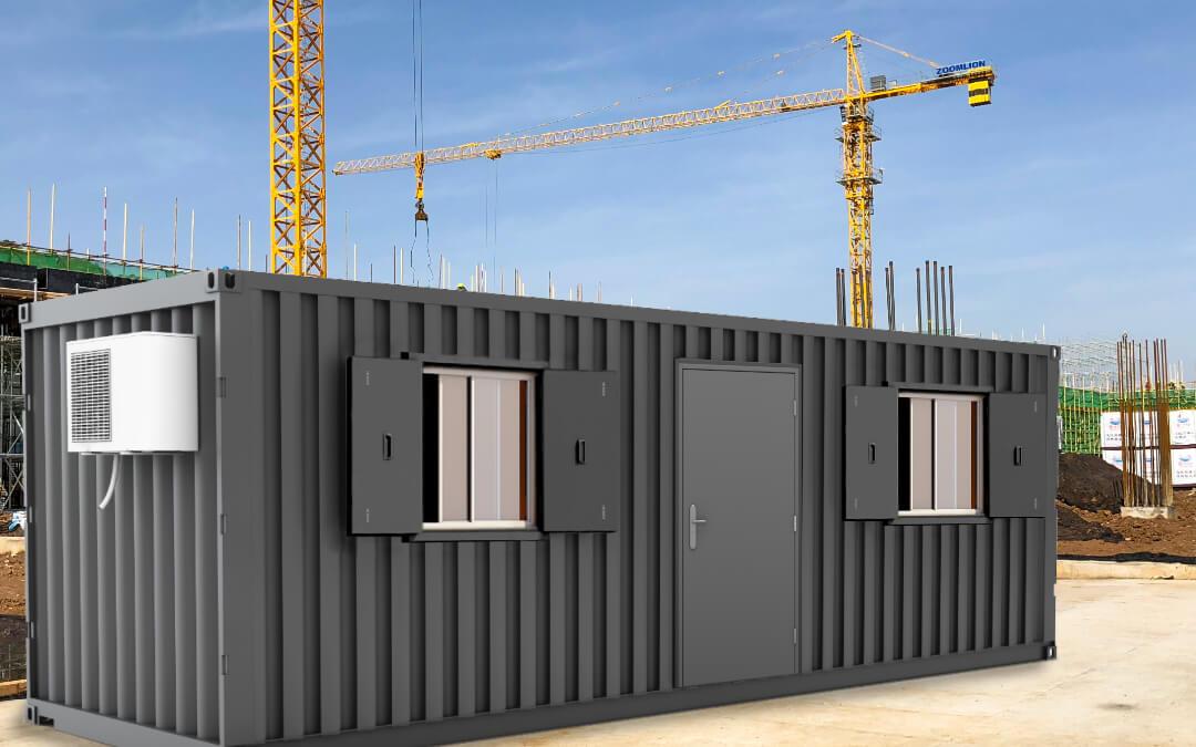 Security for your Site Cabin: Steel Doors & Window Shutters