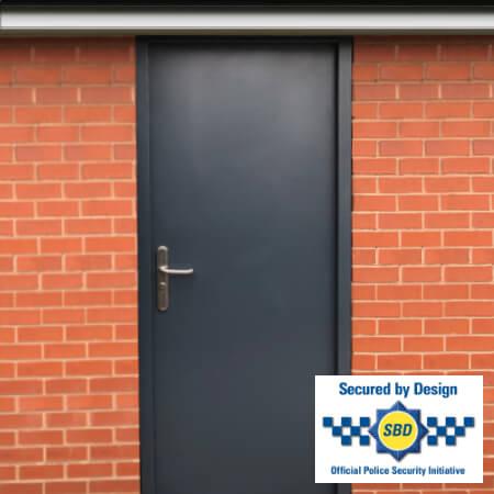 Security rated steel door products