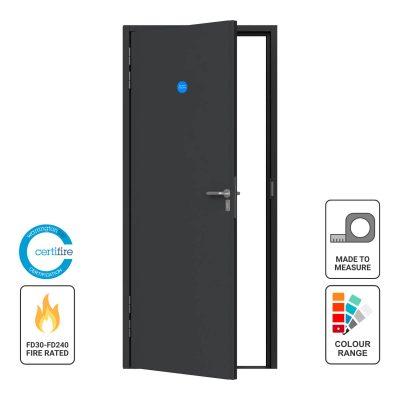 Custome made steel fire rated door
