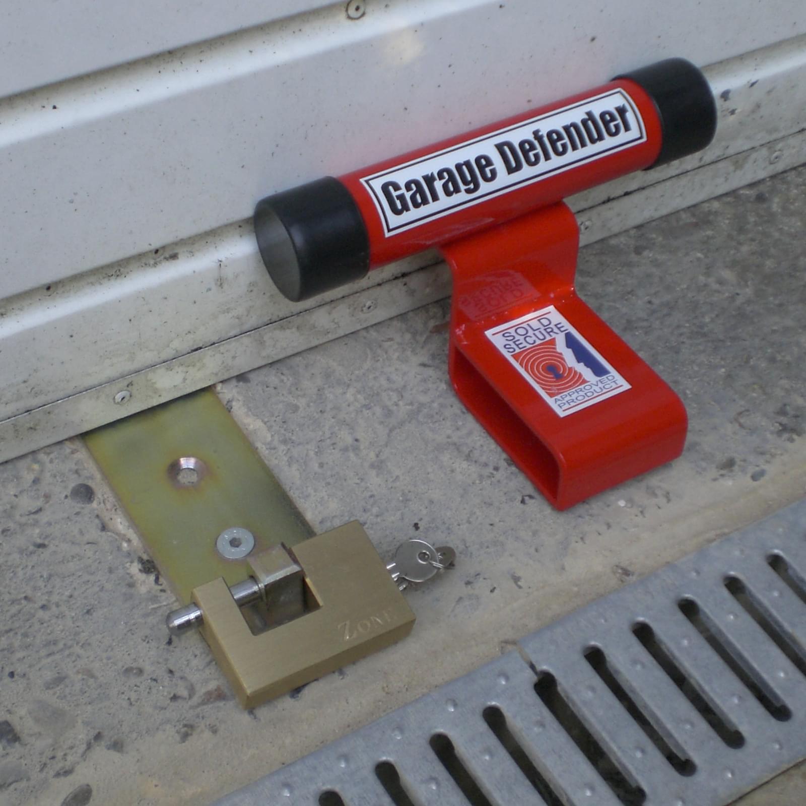 garage defender and lock