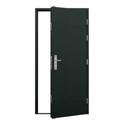 anthracite grey steel door