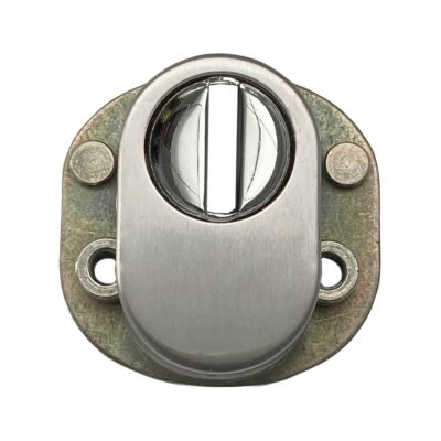 Front view of security cylinder cover