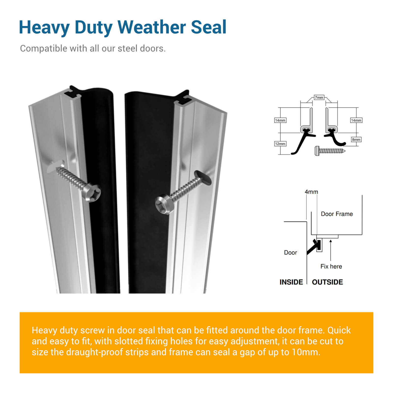 heavy duty weather seal