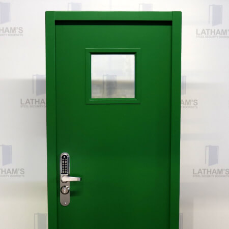 Range of clearance steel doors available