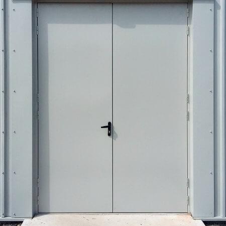 Custom made steel doors