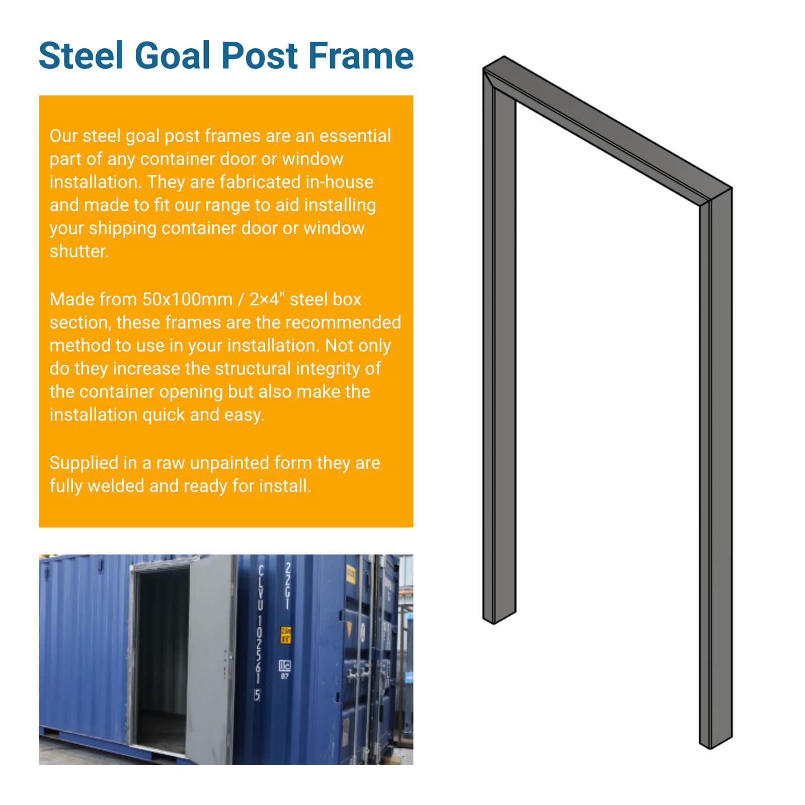 Goal Post Frame More Information