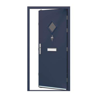 Oxford blue front door