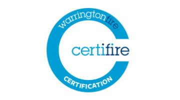 Warrington Fire Certifire Certification