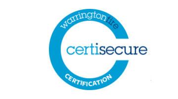 Warrington Fire Certisecure Certification