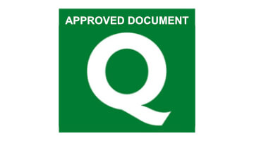 Document Q approved doors