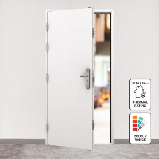 Insulated steel doors main image