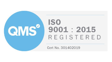 QMS ISO 9001 Accredited