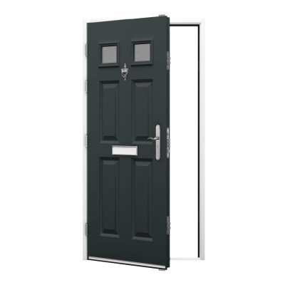 7016 door with white frame